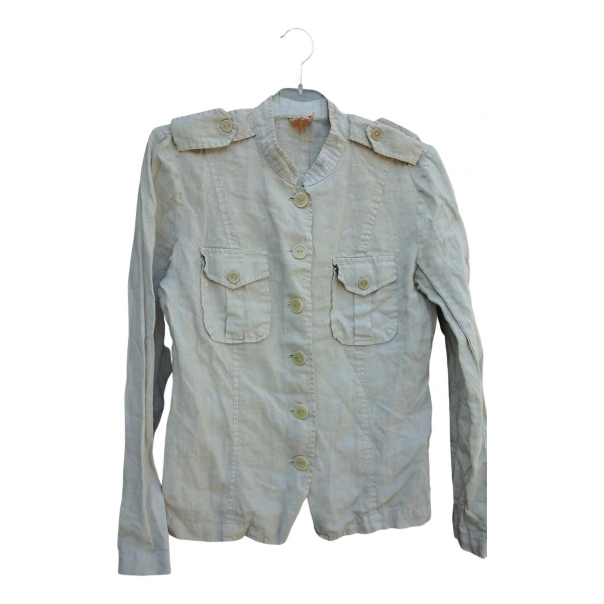 Bensimon \N Beige Linen jacket for Women 38 FR