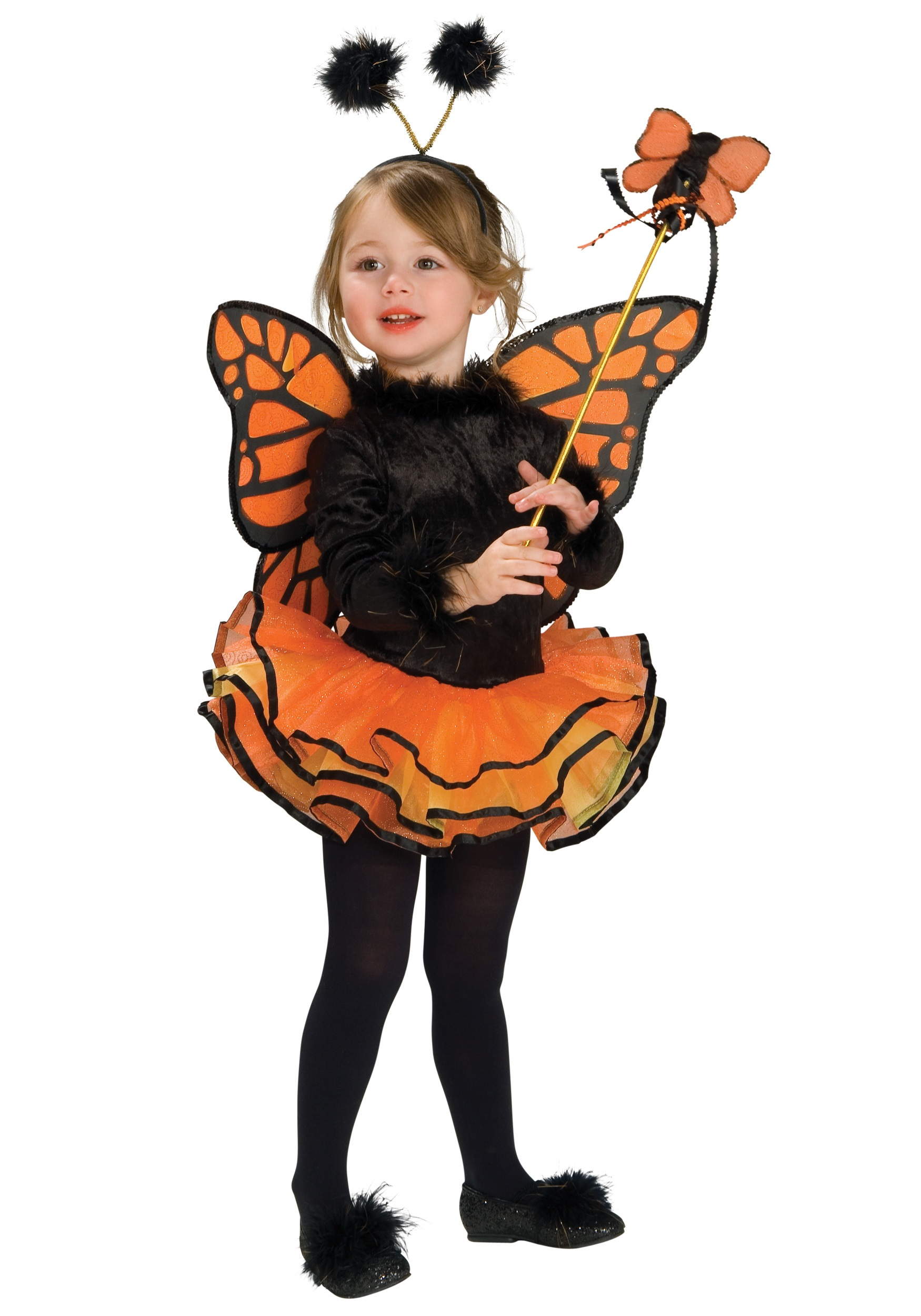 Tutu Butterfly Girls Costume | Girl's Insect Costume