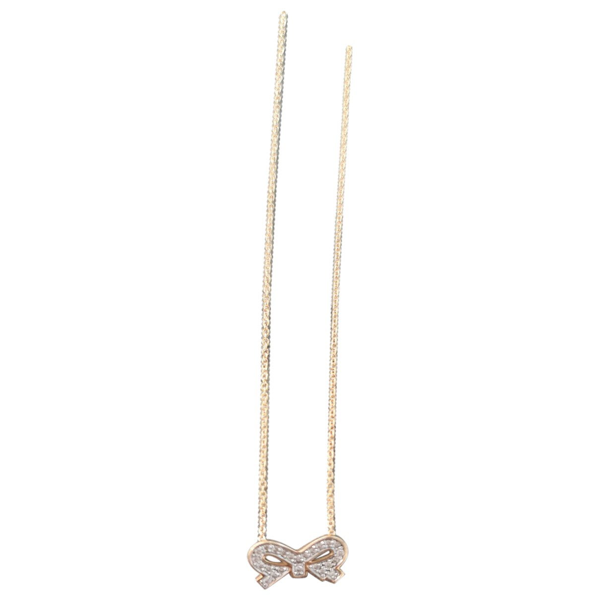 Ginette Ny Minis Pink Pink gold necklace for Women N