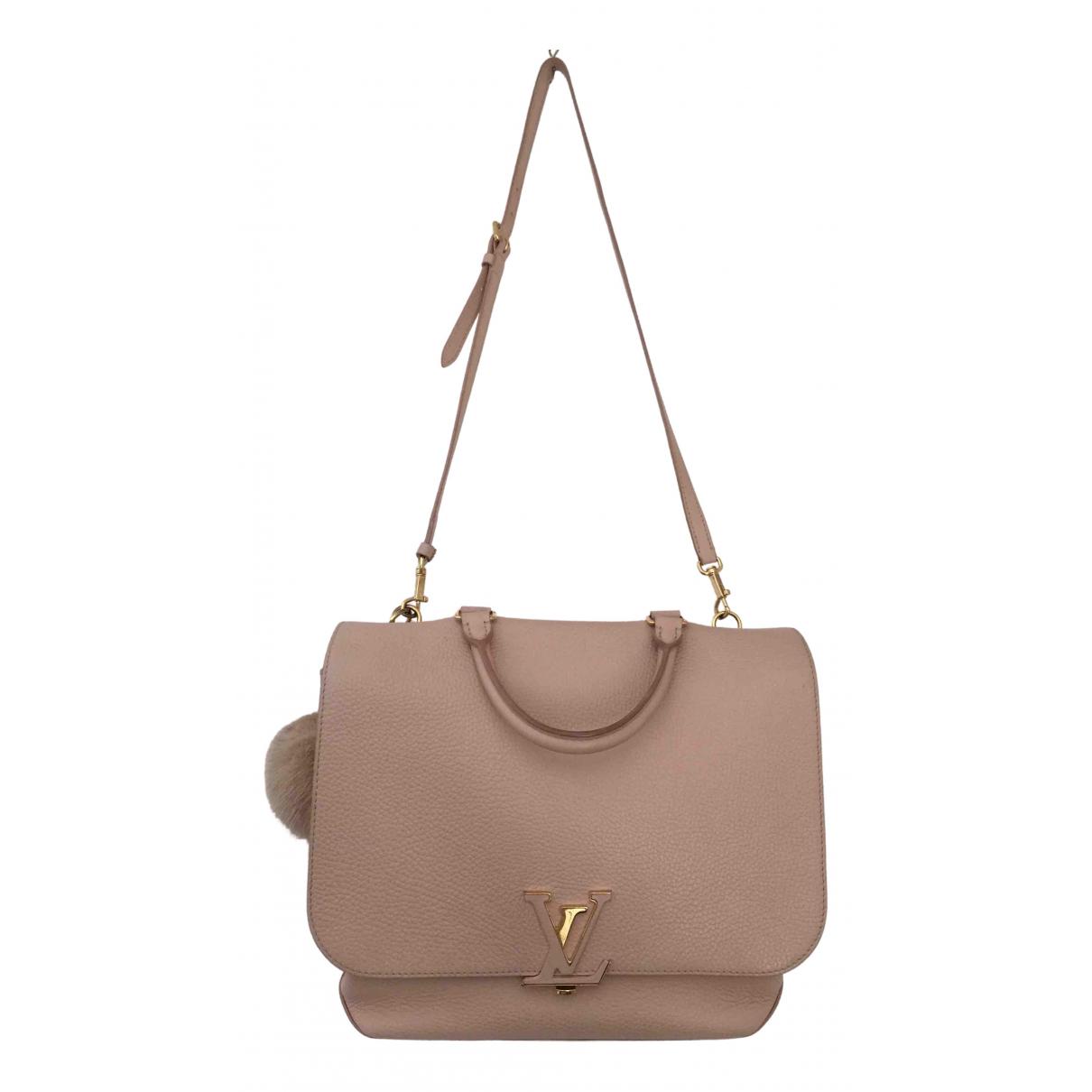 Louis Vuitton Volta Pink Leather handbag for Women \N