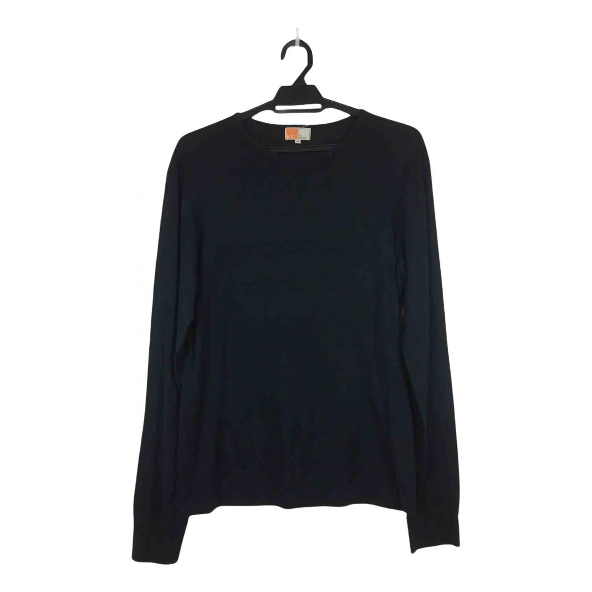 Ermenegildo Zegna \N Black Cotton  top for Women M International