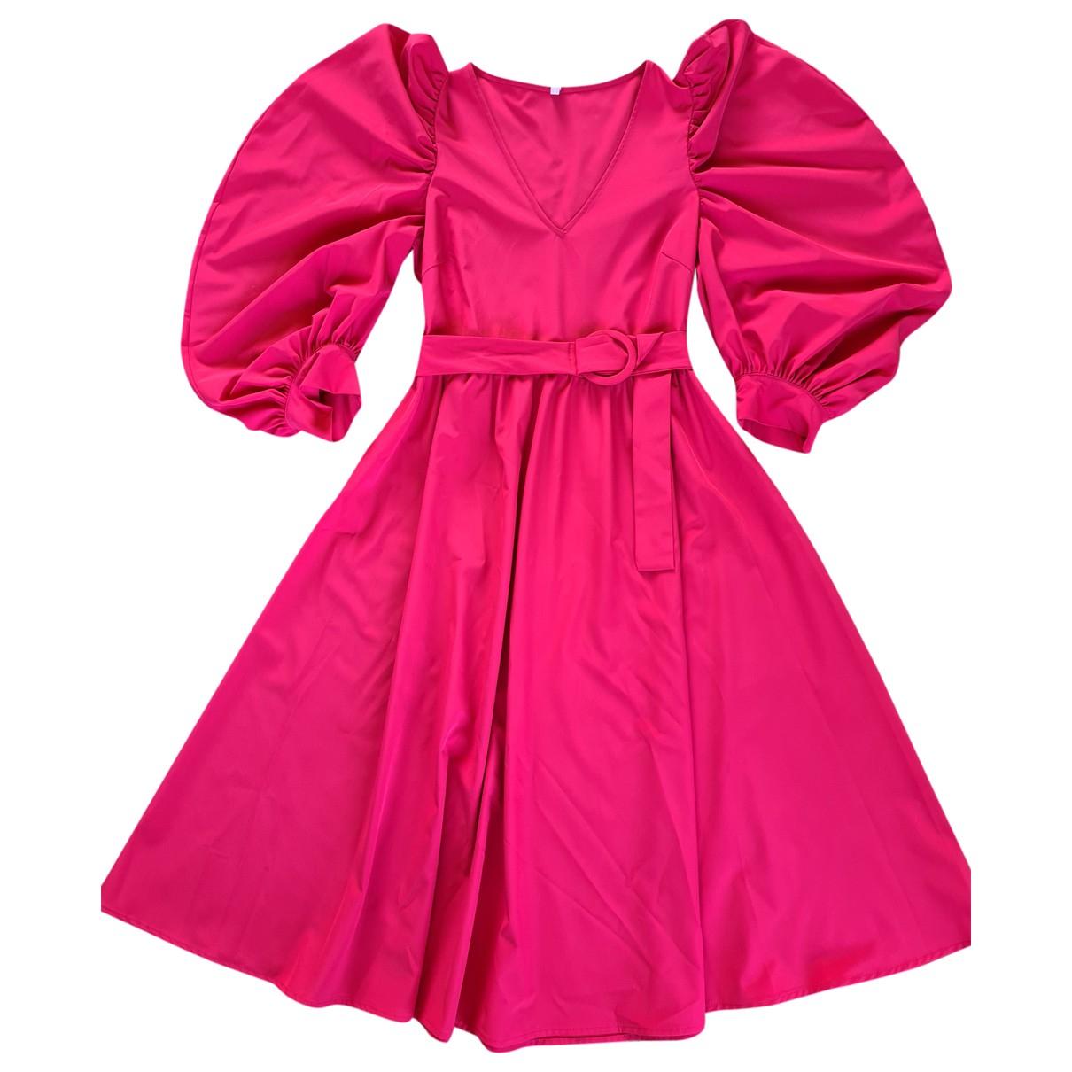 Imperial \N Kleid in  Rosa Polyester