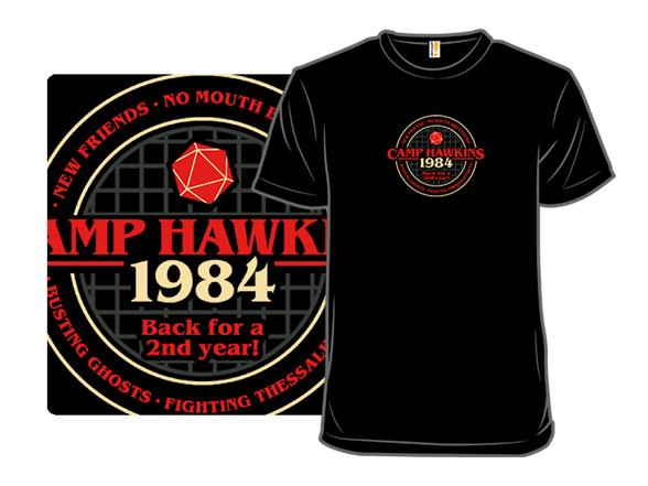 Camp Hawkins T Shirt