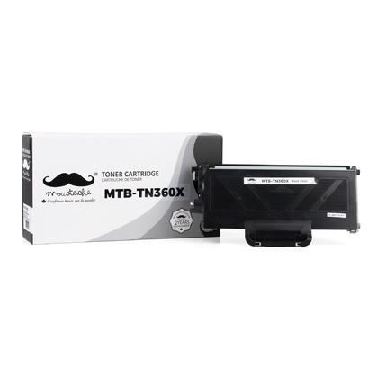 Compatible Brother MFC-7440N Black Toner Cartridge, Extra High Yield