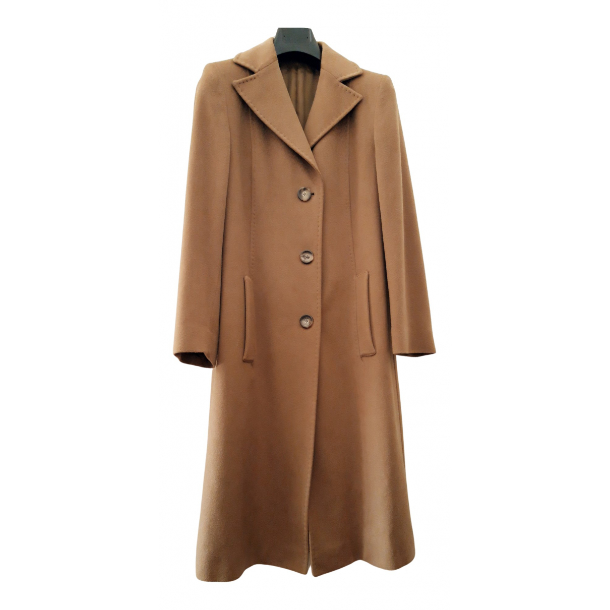 Colombo N Camel Cashmere coat for Women 42 IT