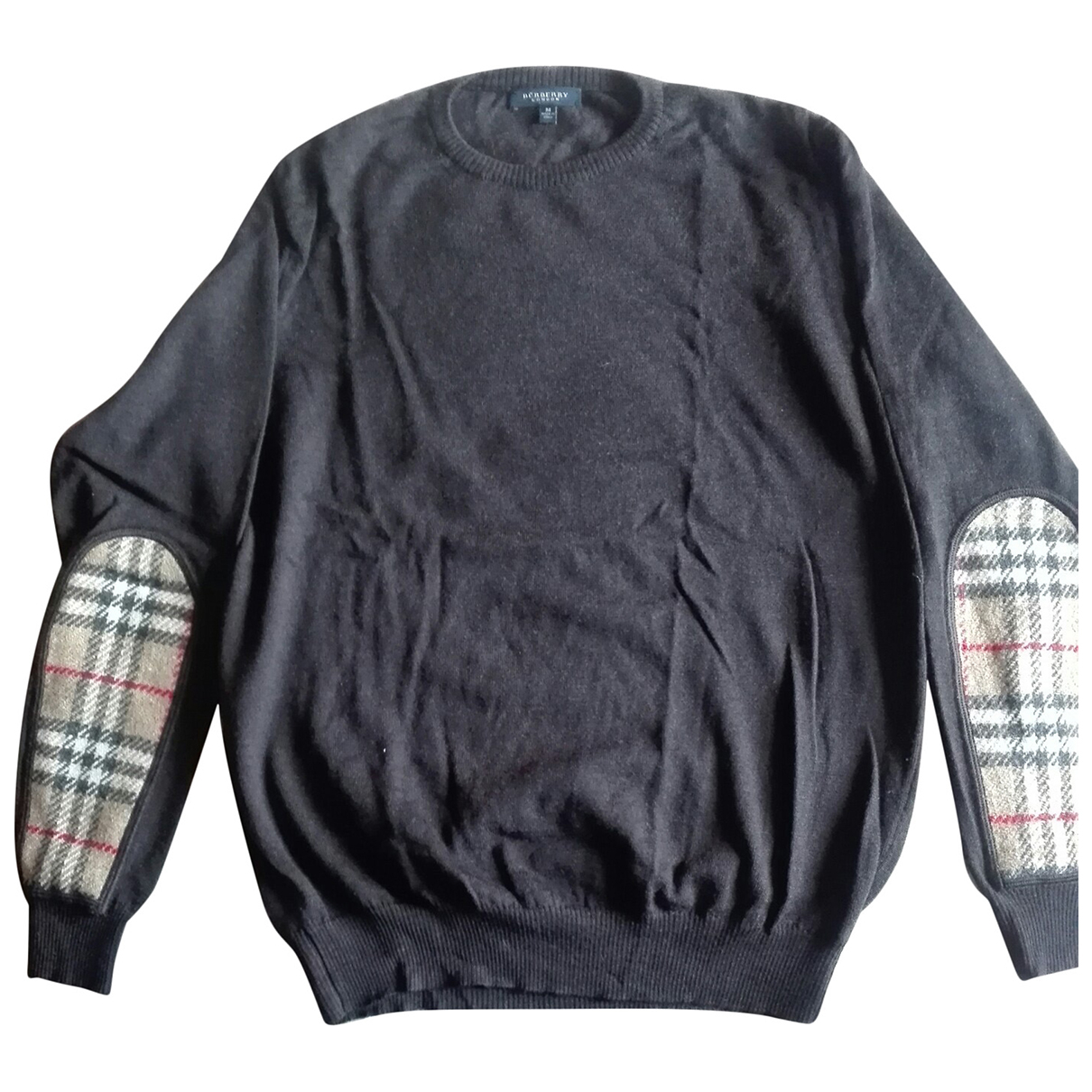 Burberry \N Pullover.Westen.Sweatshirts  in  Anthrazit Wolle