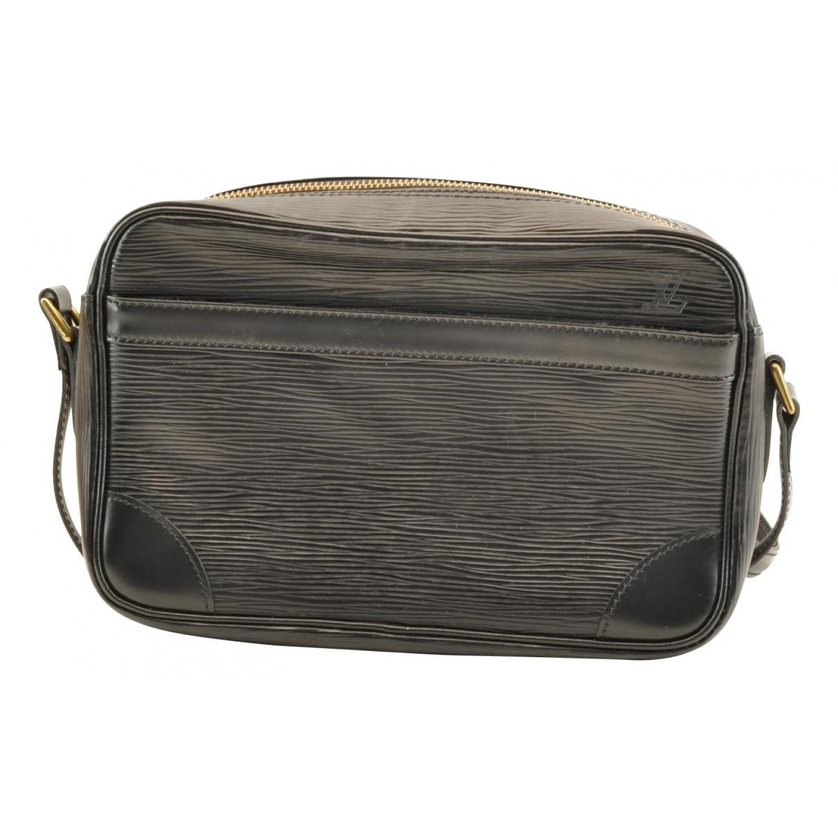 Louis Vuitton Trocadéro Black Leather handbag for Women N