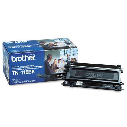 Brother TN115BK Original Black Toner Cartridge