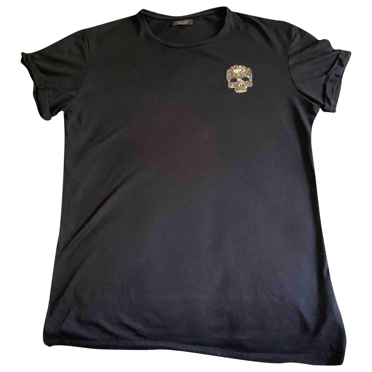Zara \N T-Shirts in  Schwarz Baumwolle