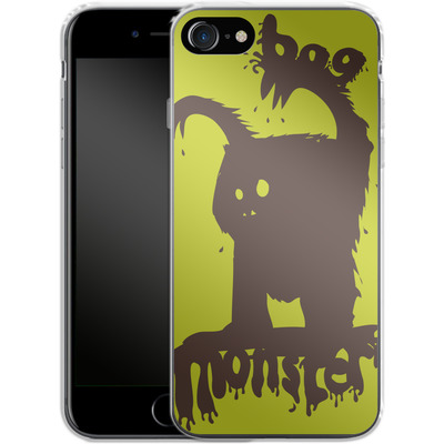 Apple iPhone 8 Silikon Handyhuelle - Boo Monster von caseable Designs