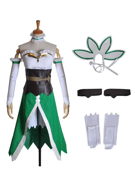 Milanoo Inspired By Sword Art Online Kirigaya Suguha Leafa Cosplay Costume