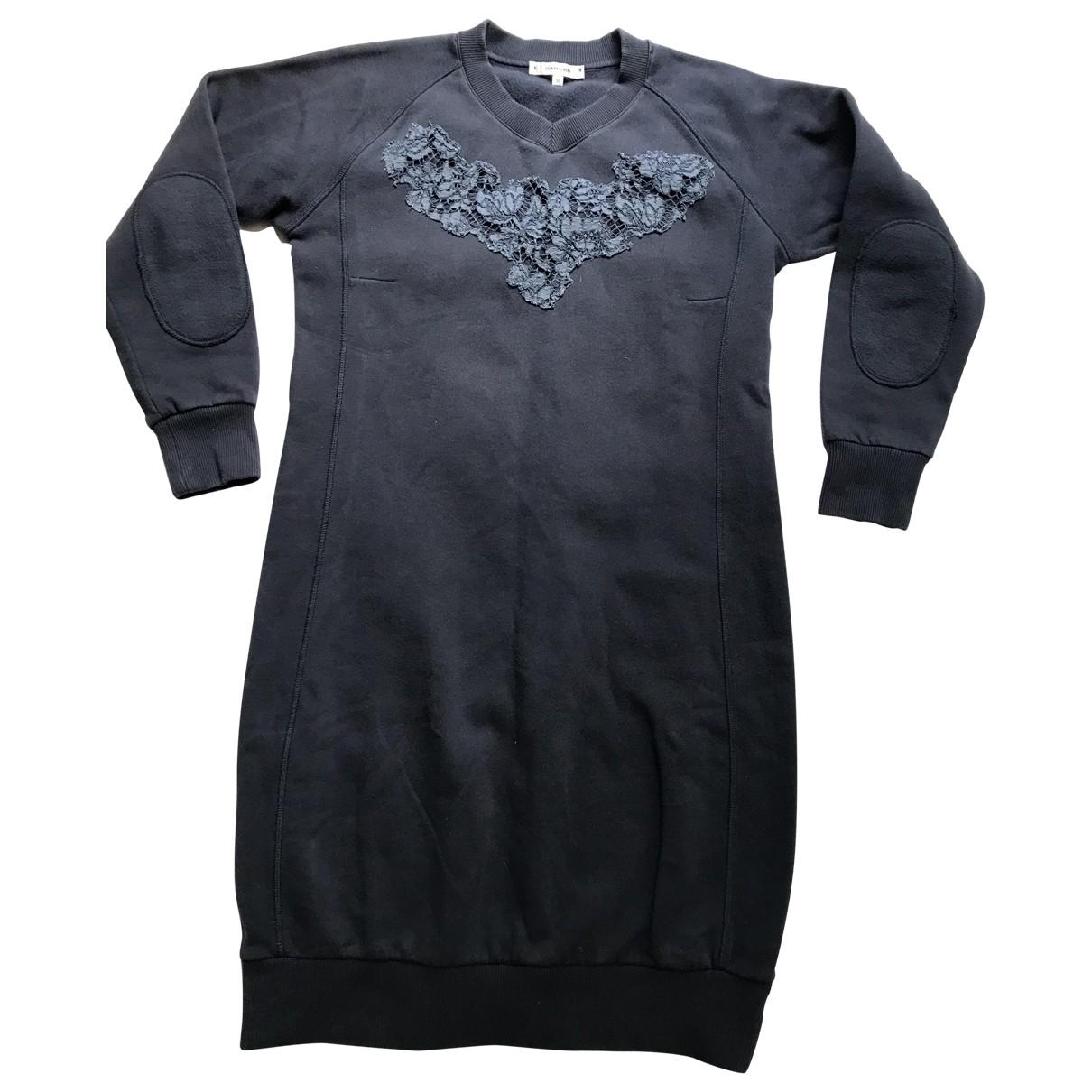 Carven \N Kleid in  Blau Baumwolle