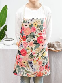 Floral Pattern Apron