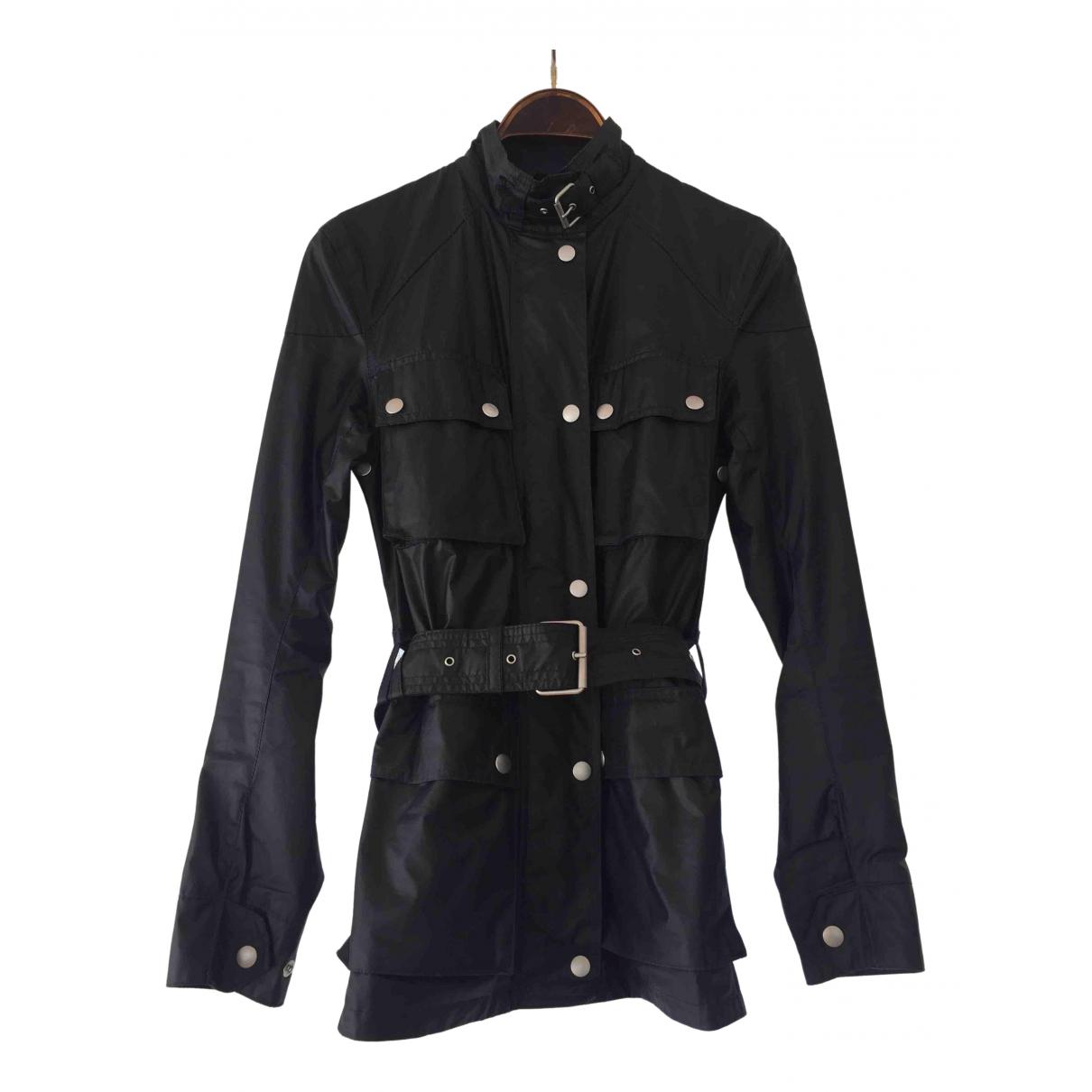 Belstaff - Manteau   pour femme en coton - marine