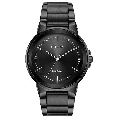 Citizen Axiom Mens Gray Stainless Steel Bracelet Watch-Bj6517-52e, One Size , No Color Family