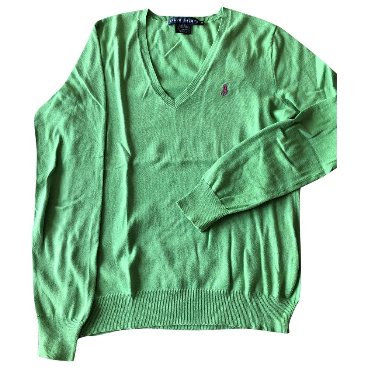 Ralph Lauren \N Pullover in  Gruen Baumwolle