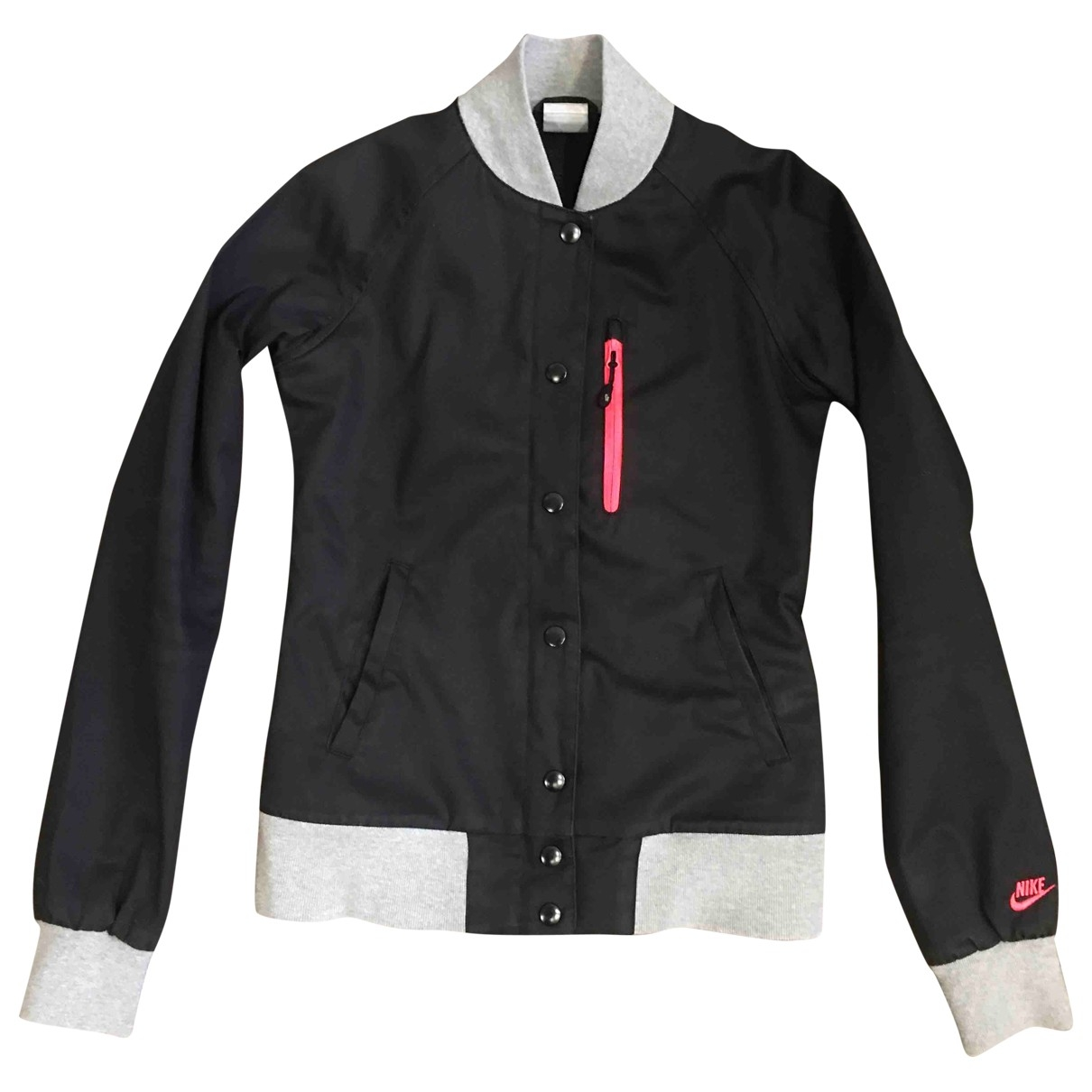 Nike \N Black Cotton jacket for Women XS International