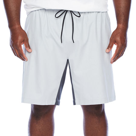 Msx By Michael Strahan Mens Stretch Pull-On Short-Big and Tall, 5x-large , Gray