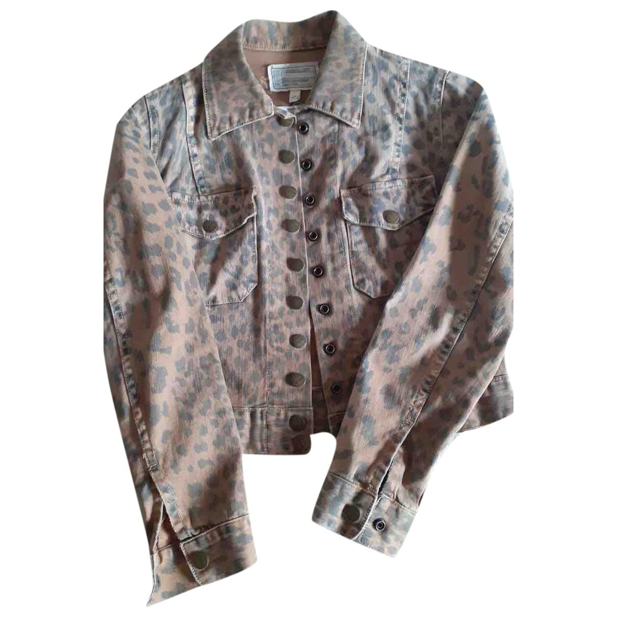 Current Elliott N Brown Denim - Jeans jacket for Women 0 0-5