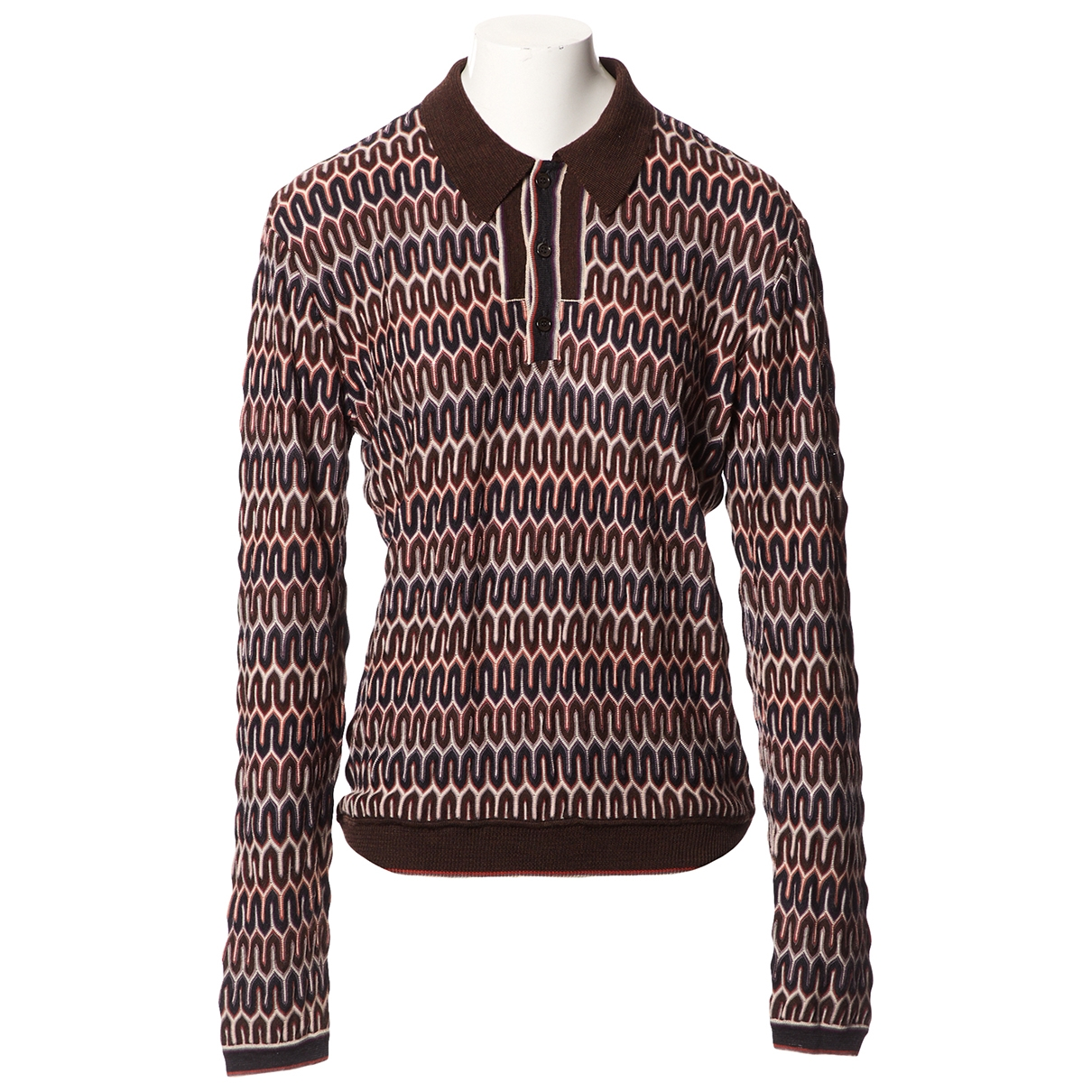 Missoni \N Pullover in  Braun Wolle