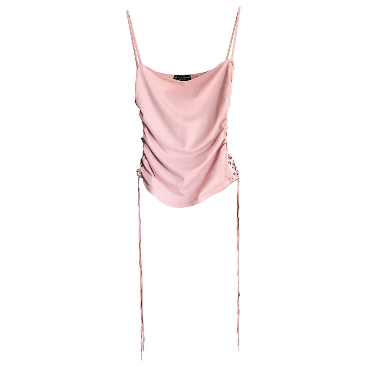 Dolce & Gabbana N Pink  top for Women M International