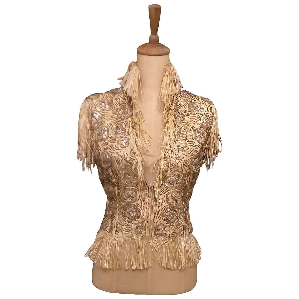 Dolce & Gabbana - Veste   pour femme - beige