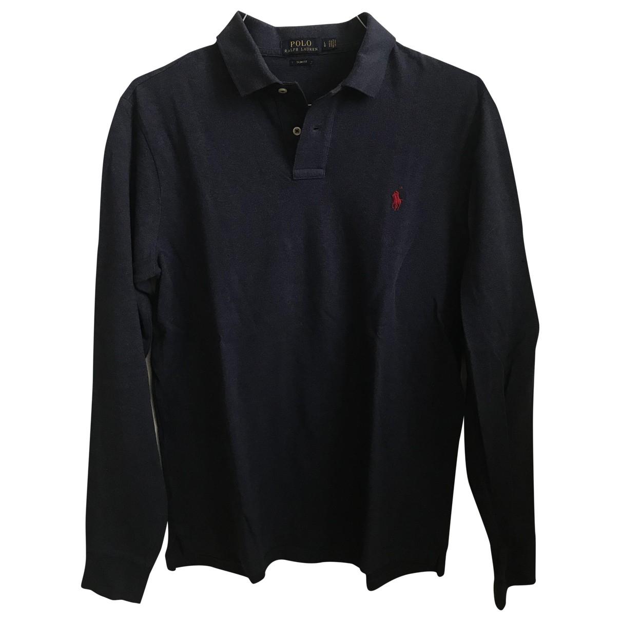 Polo en Algodon Marino Polo Ralph Lauren