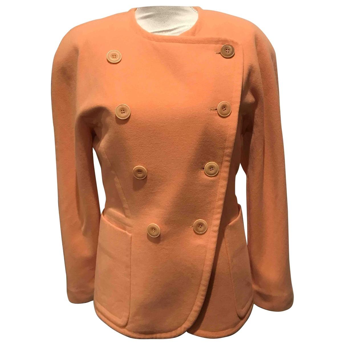 Escada \N Orange Cashmere jacket for Women 38 FR