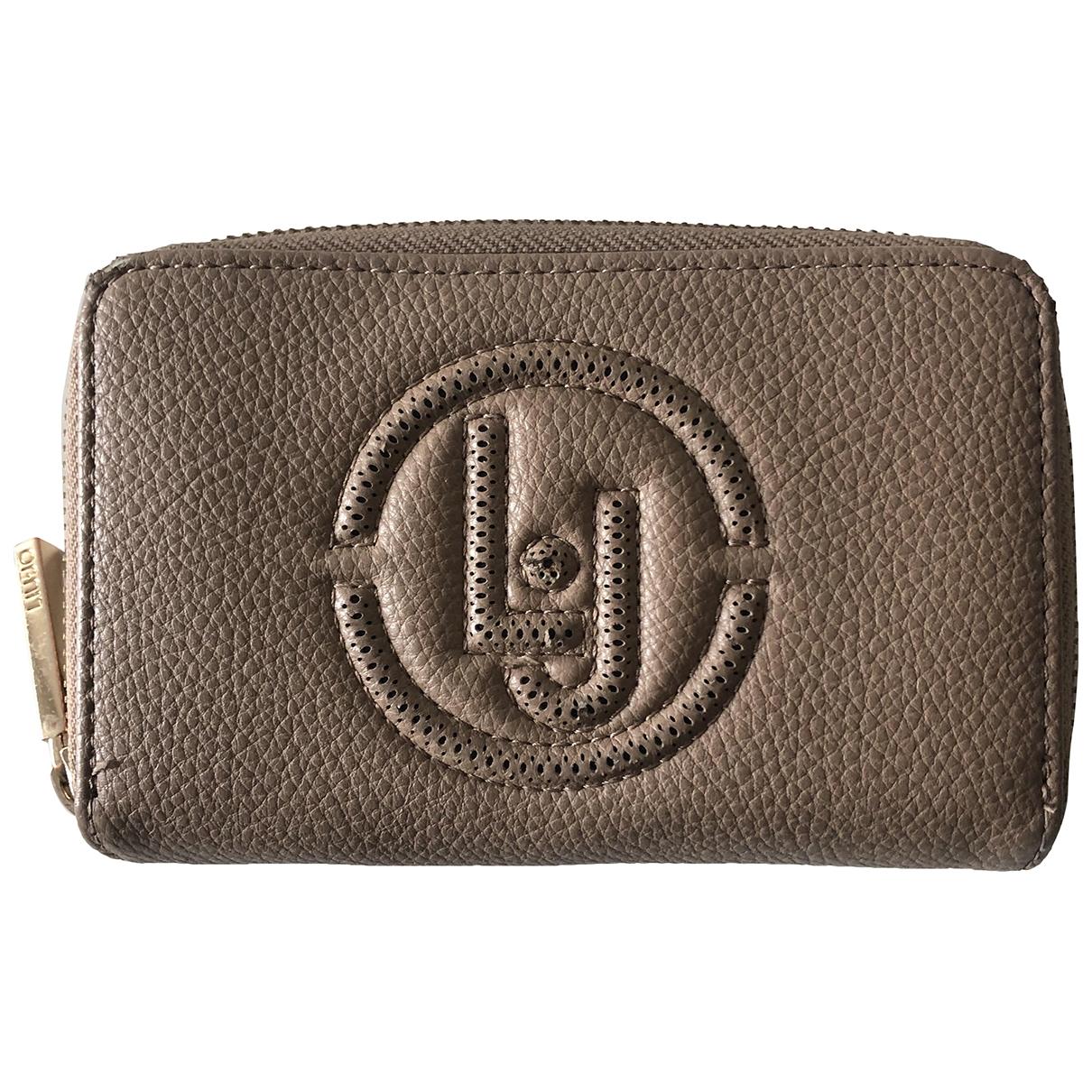 Liu.jo \N Beige wallet for Women \N