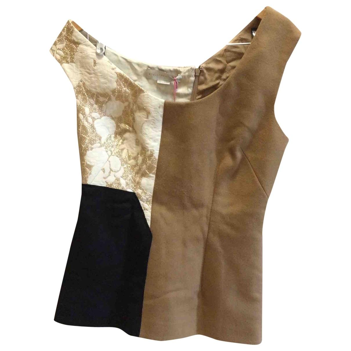 Stella Mccartney - Top   pour femme en laine - beige
