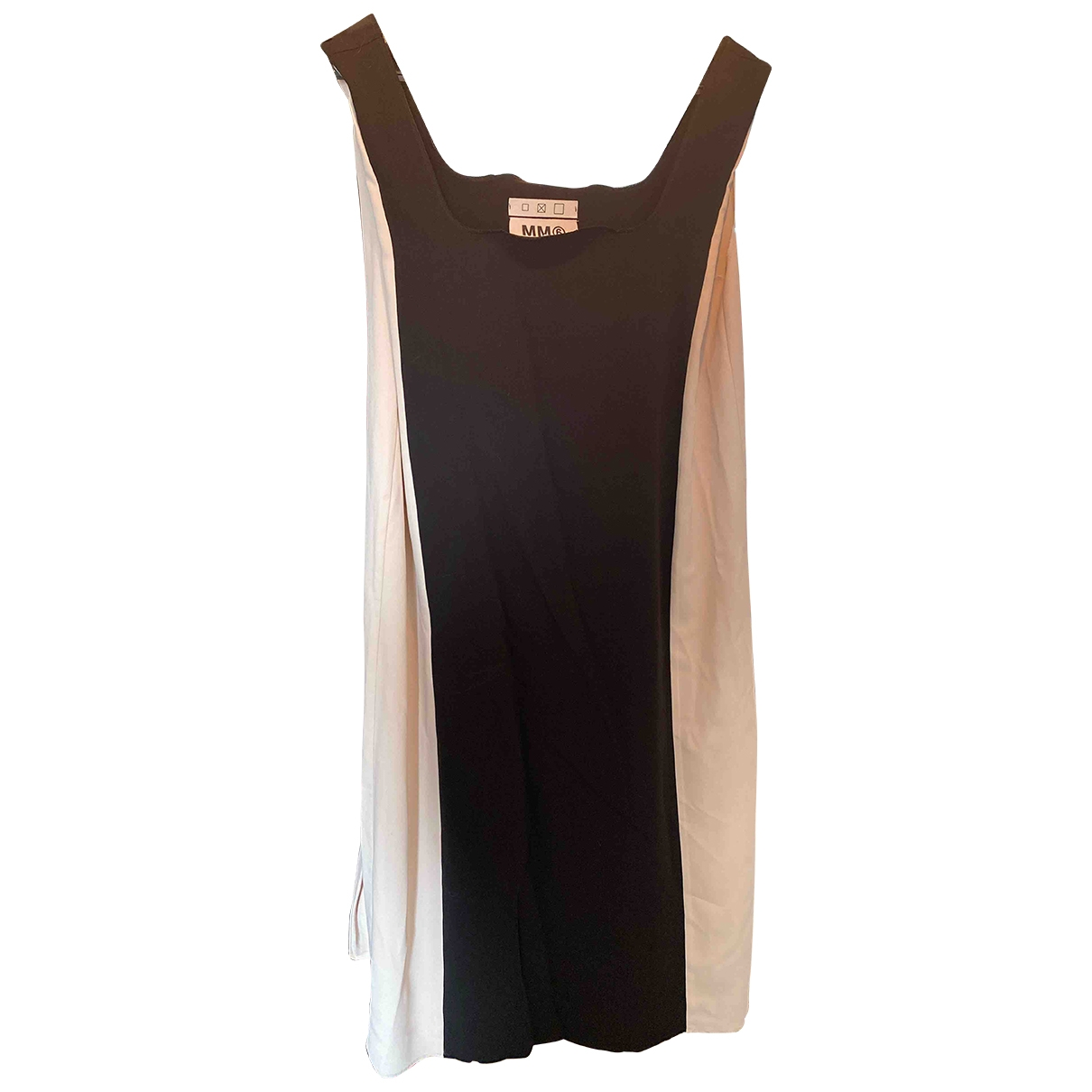 Mm6 \N Kleid in  Schwarz Polyester