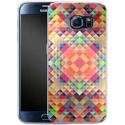 Samsung Galaxy S6 Silikon Handyhuelle - We Color von Danny Ivan