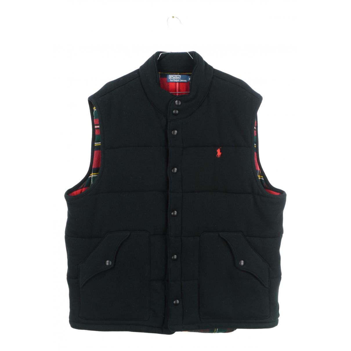 Polo Ralph Lauren - Vestes.Blousons   pour homme en coton - noir