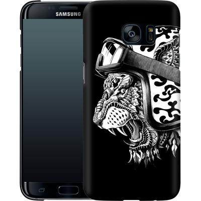Samsung Galaxy S7 Edge Smartphone Huelle - Tiger Helm von BIOWORKZ