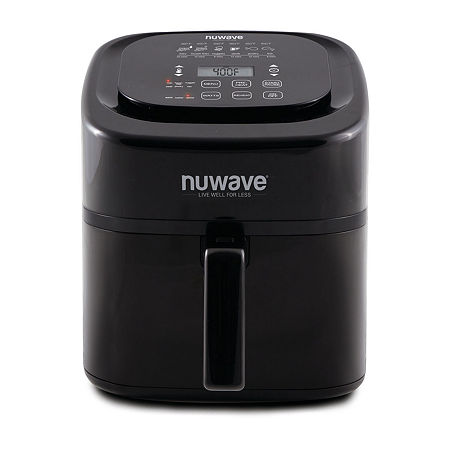 NuWave Brio 6 Quart Digital Air Fryer, One Size , Black