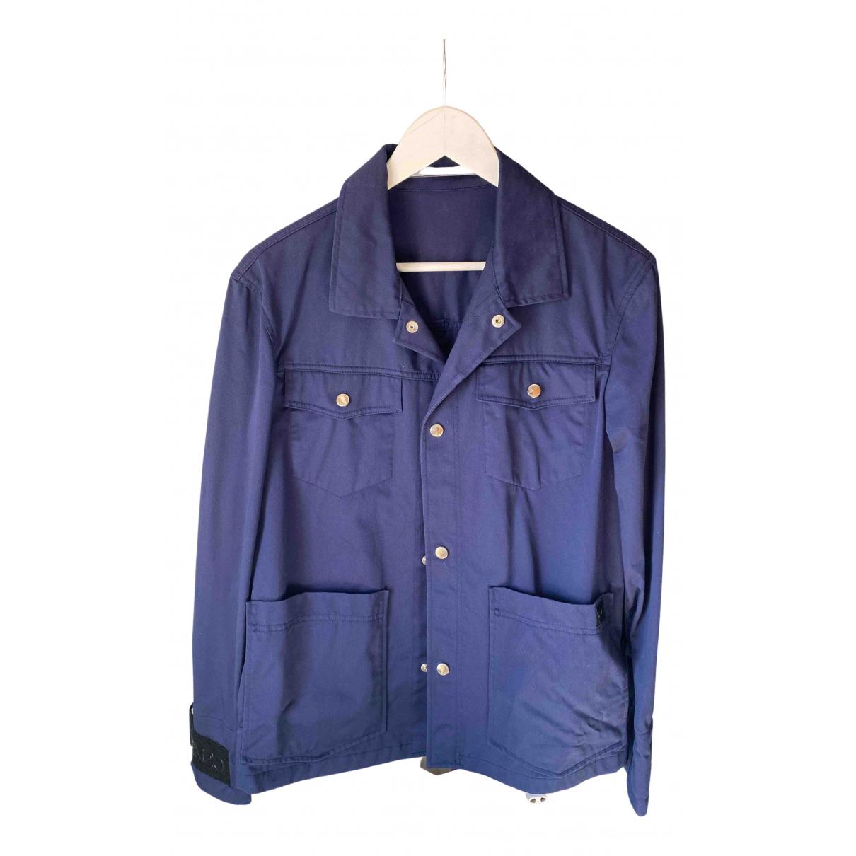 Kenzo - Vestes.Blousons   pour homme en coton - bleu