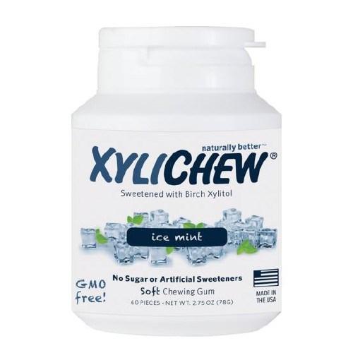 Gum Ice Mint Jar 60 Count by Xylichew