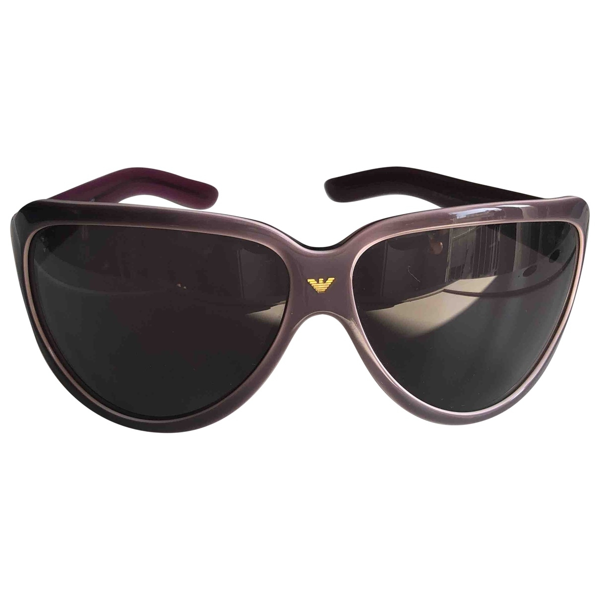 Armani Prive \N Sonnenbrillen in  Lila Kunststoff