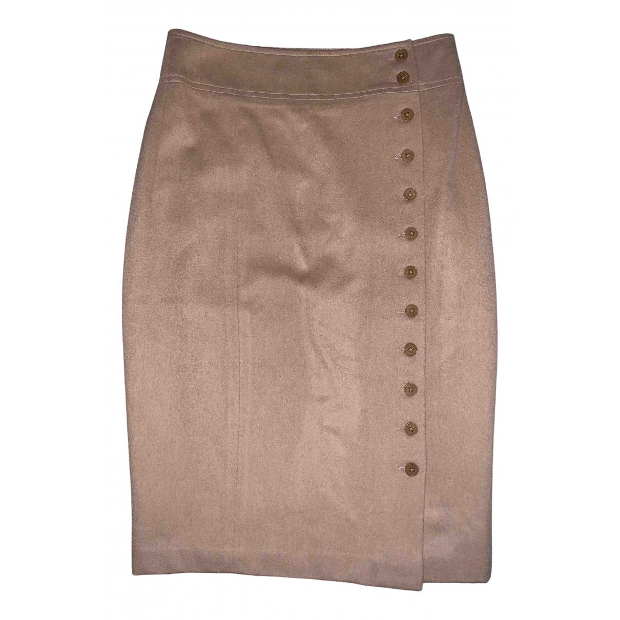 Polo Ralph Lauren - Jupe   pour femme en laine - marron