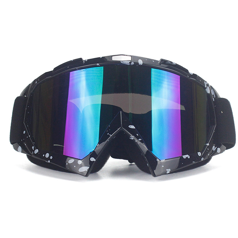 Cycling Eyewears Retro Harley Goggles Motorcycle Mask Motorcycle Helmet Mask Cross Country Goggles Windproof And Sand Proof Riding Glasses