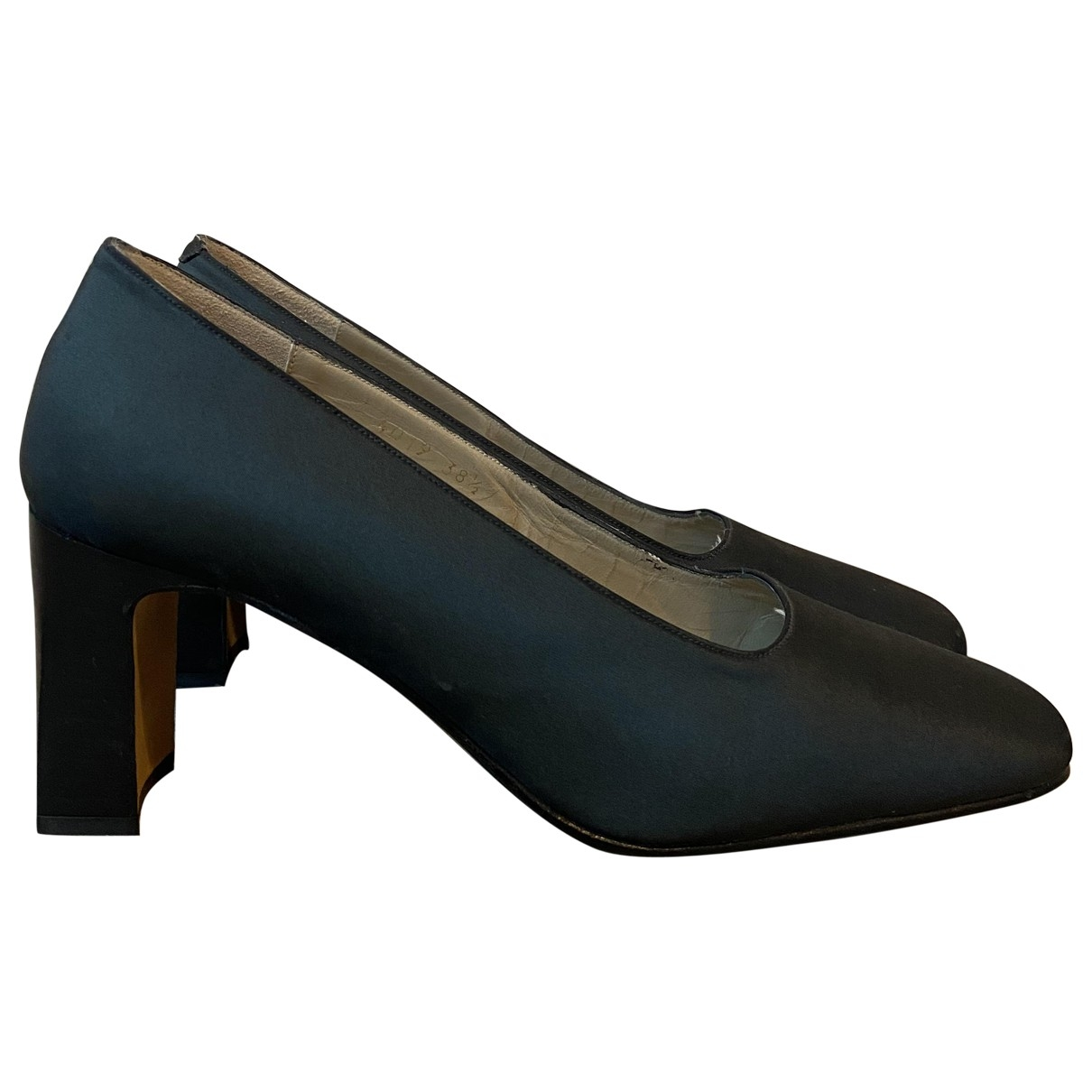 Ted Lapidus \N Anthracite Cloth Heels for Women 38.5 EU