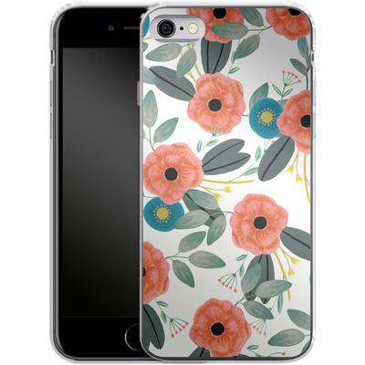Apple iPhone 6s Silikon Handyhuelle - Poppy Dream von Iisa Monttinen