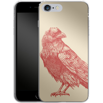 Apple iPhone 6 Plus Silikon Handyhuelle - Red Raven von Terry Fan
