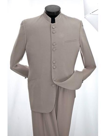 Mandarin Tan ~ Sand Tuxedo Suit