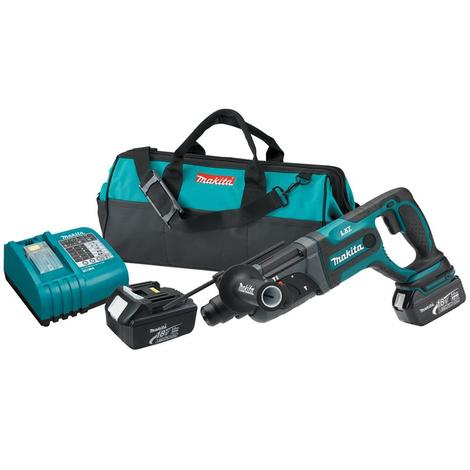 Makita 18 V LXT Lithium-Ion 7/8 In. Rotary Hammer Kit