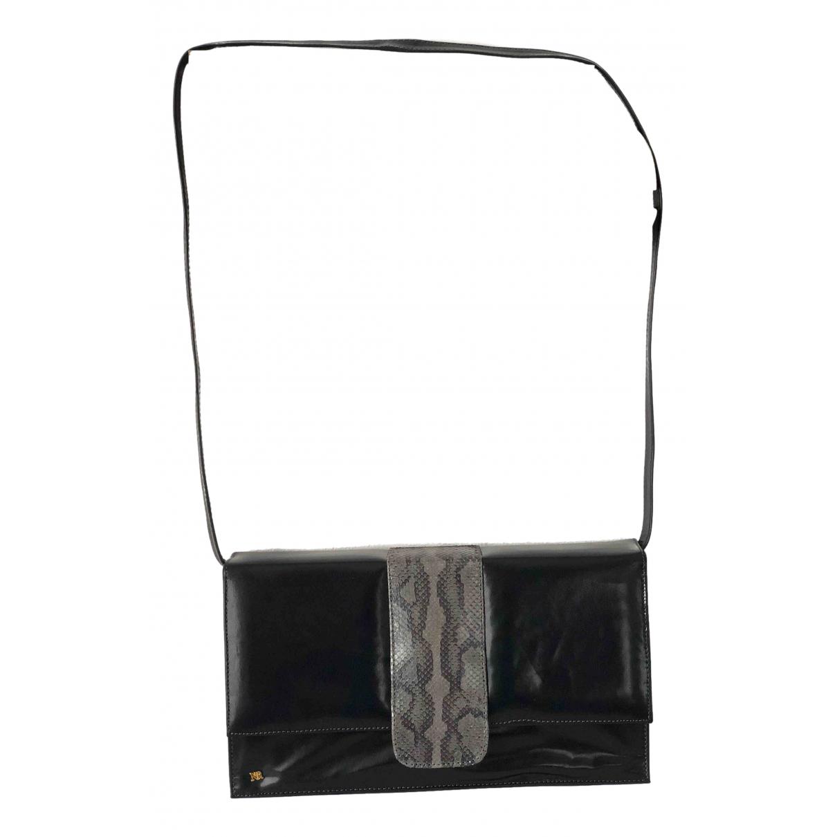 Nina Ricci N Black Fur Clutch bag for Women N