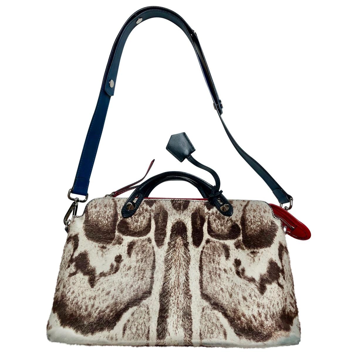 Fendi By The Way  Multicolour Pony-style calfskin handbag for Women \N