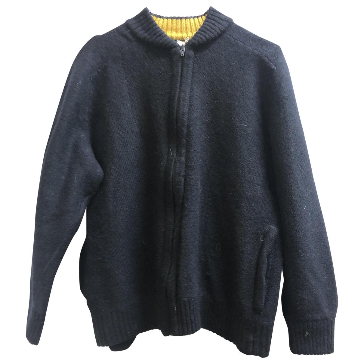 Gucci - Pulls.Gilets.Sweats   pour homme en laine - bleu