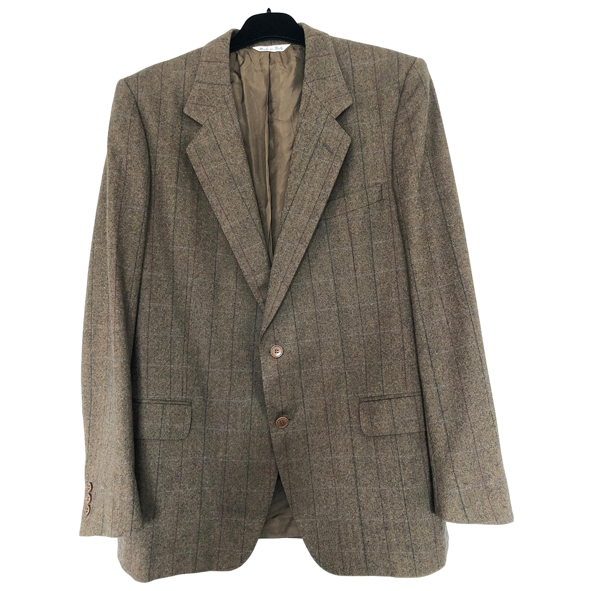 Yves Saint Laurent - Vestes.Blousons   pour homme en tweed - marron