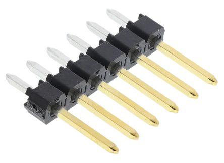 Molex , C-Grid III, 90120, 6 Way, 1 Row, Straight Pin Header (5)
